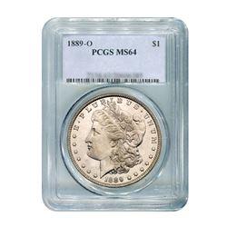 1889-O $1 Morgan Silver Dollar PCGS MS64