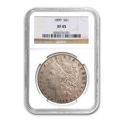 1899 $1 Morgan Silver Dollar NGC XF45