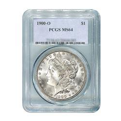 1900-O $1 Morgan Silver Dollar - PCGS MS64