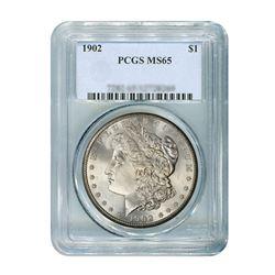1902 $1 Morgan Silver Dollar PCGS MS65