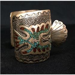 Heavy Navajo Watch Cuff (New Old Stock)