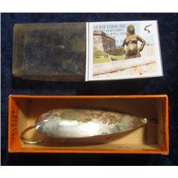 """5. """"Johnson's Silver Spoon"""" Fishing Lure. No. 1310. In original box."""