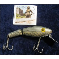 """6. """"L & S Bass Master Model 25"""" Jointed-Minnow Fishing Lure. No box."""