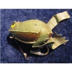 24. Frog Type Lure with flipper legs. One leg broken.