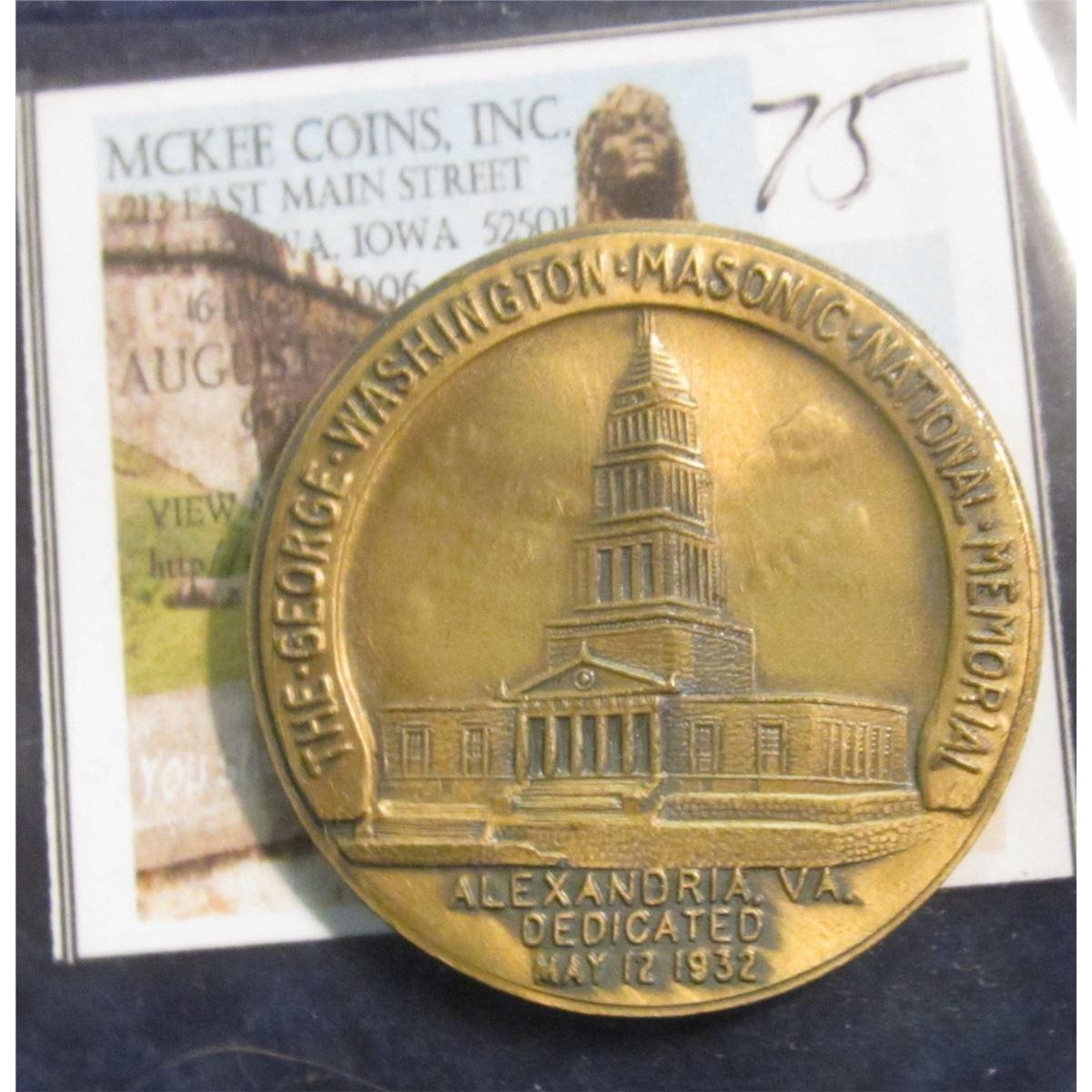 75 The George Washington Masonic National Memorial Alexandria Va Dedicated May 12 1932 Rever