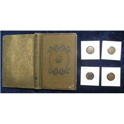 "511. 1892 Edition ""The Hornet's Nest"", by E.P. Roe. Hdb., 193 pgs. & 1944 D Shell-case Copper Cent;"