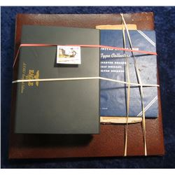"544 Gold-embossed UNICEF Album. No pages; ""United States Coin Type Collection"" Used Whitman folder;"