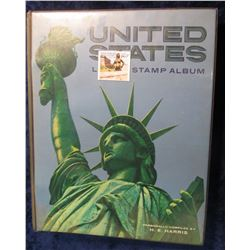 664. United States Liberty Stamp Album. The Album is in VG condition and contains hundreds of rare s