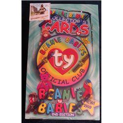 "715. Original Wax Box of ""Series III Beanie Babies Collector's Cards"", Second edition. 1999 era."