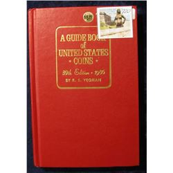 """720. """"A Guide Book of United States Coins"""" 39th Edition. 1986. By R.S. Yeoman. Hardbound., excellent"""