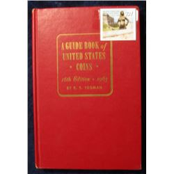 """721. """"A Guide Book of United States Coins"""" 16th Edition. 1963. By R.S. Yeoman. Hardbound., Very Good"""
