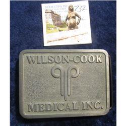 732. Odd belt buckle – Wilson-Cook Medical Inc.