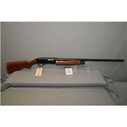 "Winchester Model 2200 . 12 Ga 2 3/4"" Pump Action Shotgun w/ 30"" bbl [ blue finish starting to show s"