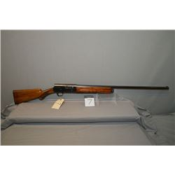 "Browning Model Auto Five .12 Ga 2 3/4"" Semi Auto Shotgun w/ 800 mm bbl [ blue finish in carry areas,"