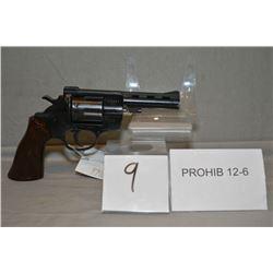 Arminius Model HW 38 .38 Spec cal 6 Shot Revolver w/ 102 mm vent rib bbl [ blue finish, fixed sights