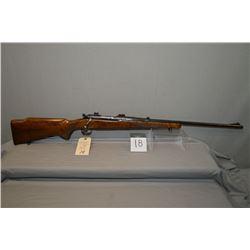 "Winchester Pre 64 Model 70 .22 Hornet cal Bolt Action Rifle w/ 24"" bbl [ blue finish, barrel sights,"