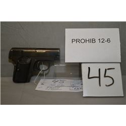 FN- Browning Model 1906 6.35 MM cal 6 Shot Semi Auto Pistol w/ 54 mm bbl [ blue finish strarting to