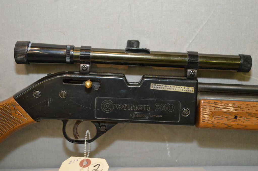 Lot of Two Items : Crosman Model 760 Pump Master  177 Pellet