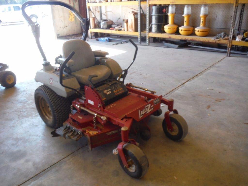 2006 Exmark Lazer Z Hp Zero Turn Lawn Mower  S  N 662157  46 U0026quot  Deck  Rollbar  Kawasaki Engine  Meter R