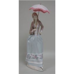 Lladro Lady Holding Parasol