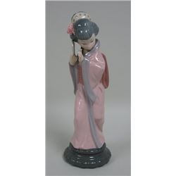 Lladro Japanese Girl with Fan