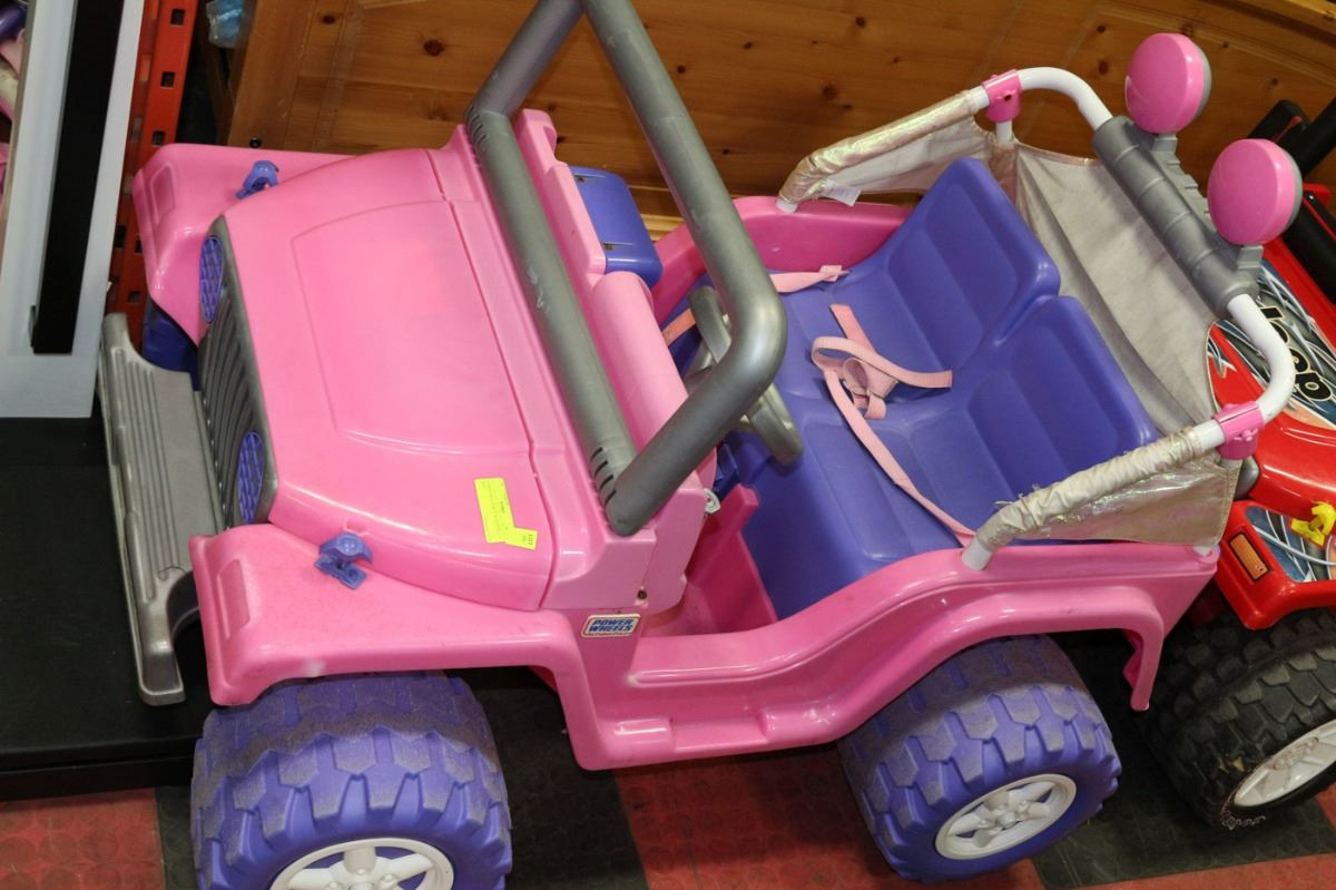 FISHER PRICE PINK POWER WHEELS JEEP