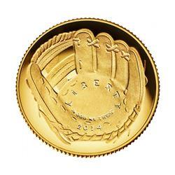 2014-W $5 Signed HOF Darryl Strawberry Coin PCGS PF70