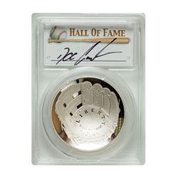 2014-P $1 Doc Gooden Signed HOF Coin PCGS PF70