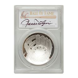 2014-P $1 Rollie Fingers Signed HOF Coin PCGS PF70