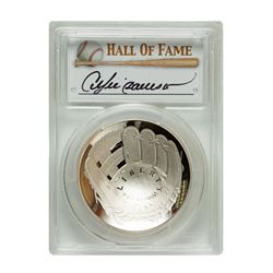 2014-P $1 Andre Dawson Signed HOF Coin First Strike PCGS PF70