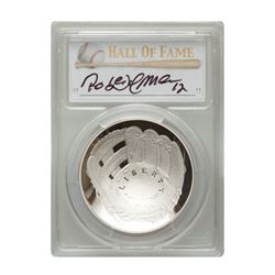2014-P $1 Roberto Alomar Signed HOF Coin PCGS PF70