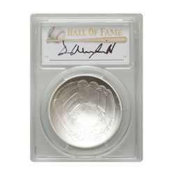 2014-P $1 Dave Winfield Signed HOF Coin PCGS MS70
