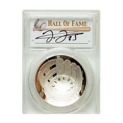2014-P $1 Frank Thomas Signed HOF Coin PCGS PF70