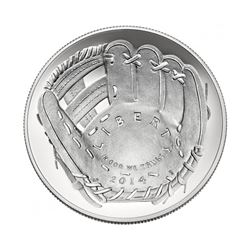 2014-P $1 Bob Gibson Signed HOF Coin First Strike PCGS MS70