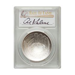 2014-P $1 Al Kaline Signed HOF Coin PCGS MS70