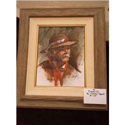 "Original Oil by J. Hester- Signed- 20""X23"""
