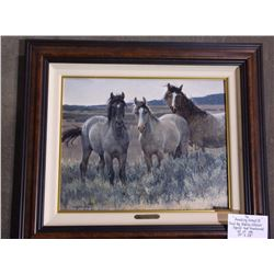 """Amazing Grays II Print by Nancy Glazier- Signed and Numbered- 62 of 195- 24""""X28"""""""