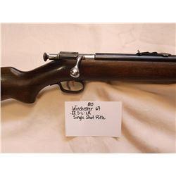Winchester 67 - .22 S-L-LR-Single shot Rifle