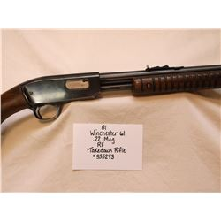 Winchester 61- .22 Mag RF- Takedown Rifle