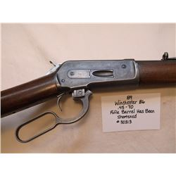 Winchester 86- .45-70 Rifle-Barrel has Been Shortened