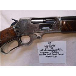 Marlin 95- .45-70-125th Anniversary Rifle-Engraved-Deluxe-Half Hex-Half Round Barrel