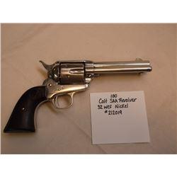 Colt SAA Revolver-.32 WCF-Nickel