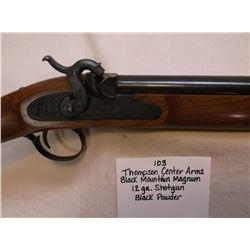 Thompson Center Arms- Black Mountain Magnum- 12 GA Shotgun- Black Powder