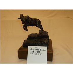 """Gary Shoop Bronze- 28 of 250- 7 1/2' X 7 1/2"""" X 10"""""""