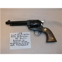"""Colt Single Action Army .45 Revolver- 5 1/2"""" Barrel-Engraved By Michael Gouse-NIB"""