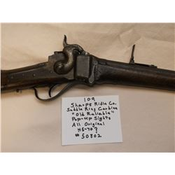 """Sharps Rifle Co. Saddle Ring Carbine """" Old Reliable""""  Pop-Up Sights-All Original- 45-70?"""