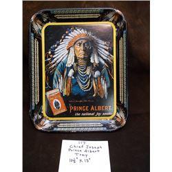 "Chief Joseph Prince Albert Tray- 10 1/2"" X 13"""