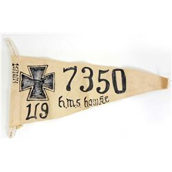 IMPERIAL GERMAN NAVAL U-BOAT TONNAGE KILL FLAG