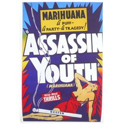 ASSASSIN OF YOUTH ANTI MARIHUANA MOVIE POSTER PRINT