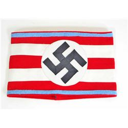 GERMAN NAZI POLITICAL LEADER ORTS OFFICERS NSDAP SWASTIKA ARM BAND